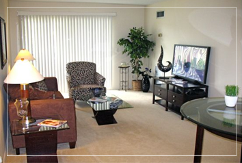 Corporate Housing in Southgate Michigan - living-room